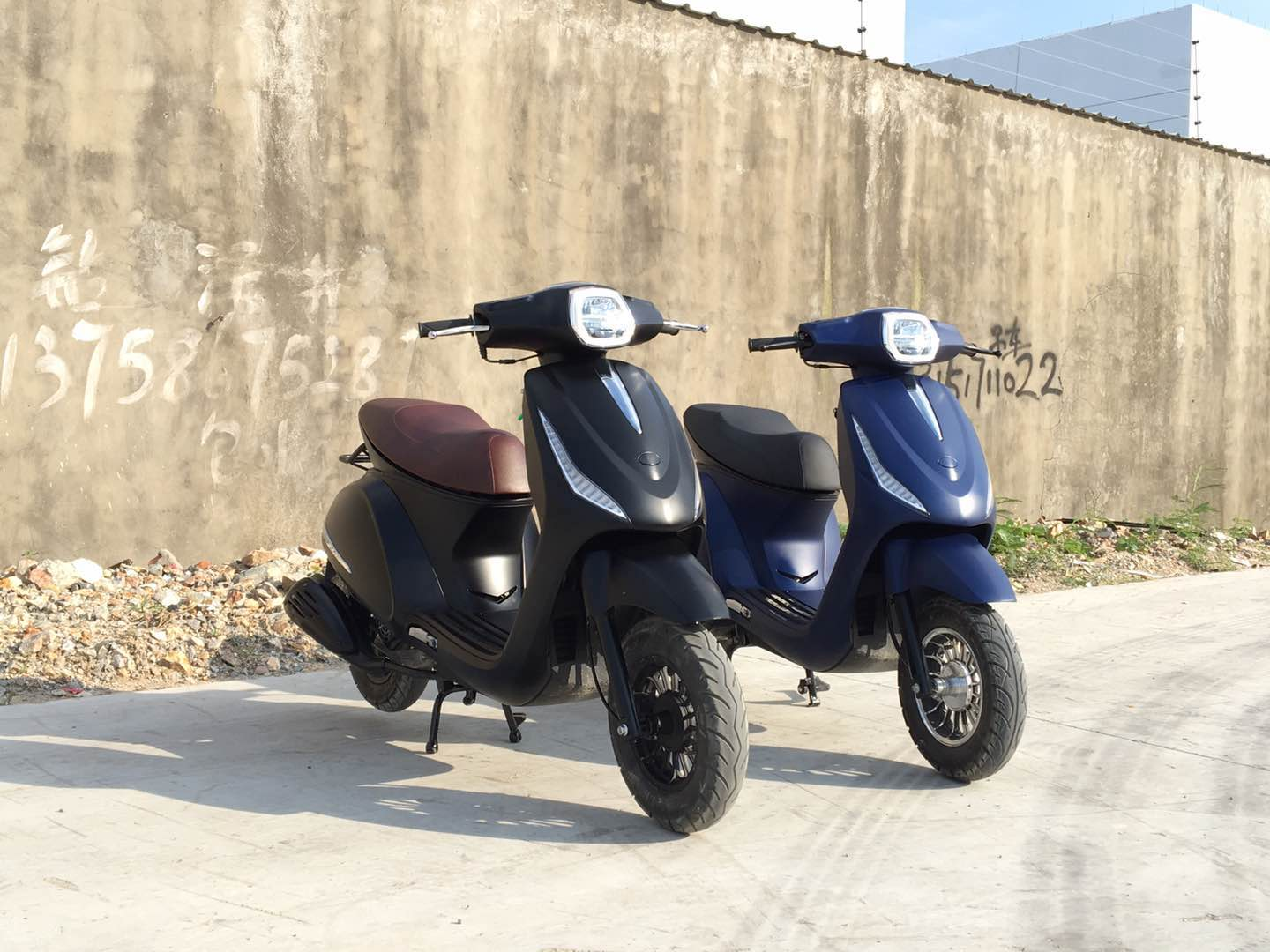Jiajue 2018 New Design retro type EFI Euro4 50CC gas scooters