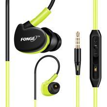 High Quality HL In Ear Earbuds HIFI Sports Stereo Handsfree MIC Waterproof Headset Headphone Earphone Universal For Mobile Mar30