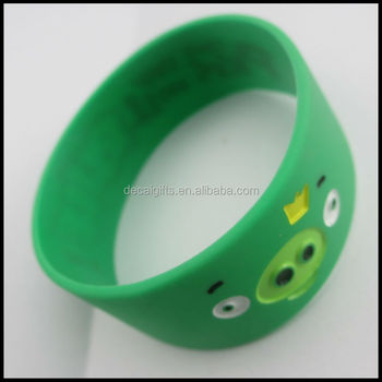 Kids S Best Silicone Wristbands Toy Debossed Animated Frog Bracelets