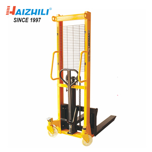 (CTYD-1T-1.6M) Wholesale price warehouse used 1 ton manual pallet stacker truck