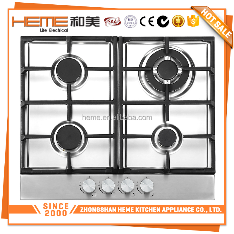 China Manufacture natural gas/ liquefied petroleum gas universal gas cooker (PG6041BS-C1C2I)