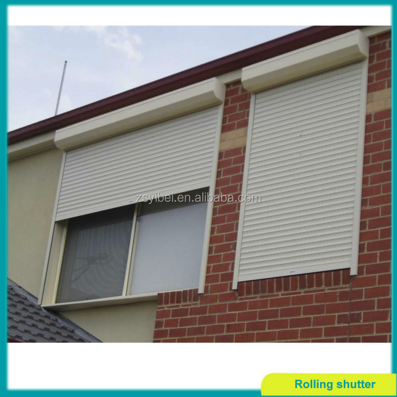 french foamed slats rolling shutter