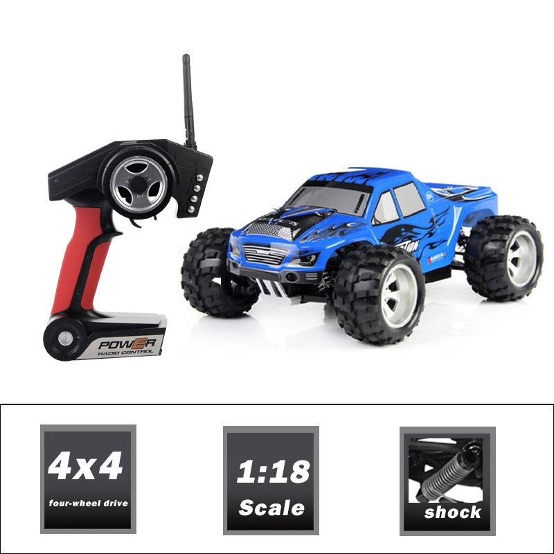 Outdoor Kids Toys High Speed 40 LM/H RC Car with Brushed Motor