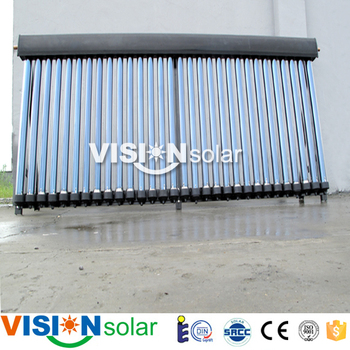 Good working condition China solar collector with heat pipe exchanger