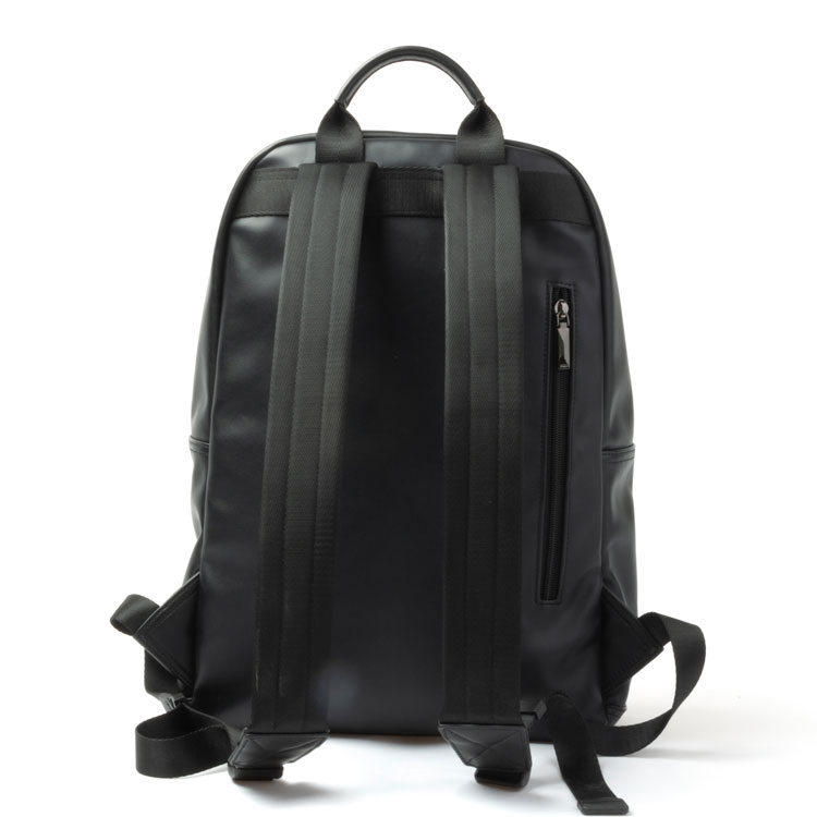 Black ladies backpack fashion women pu backpack bag