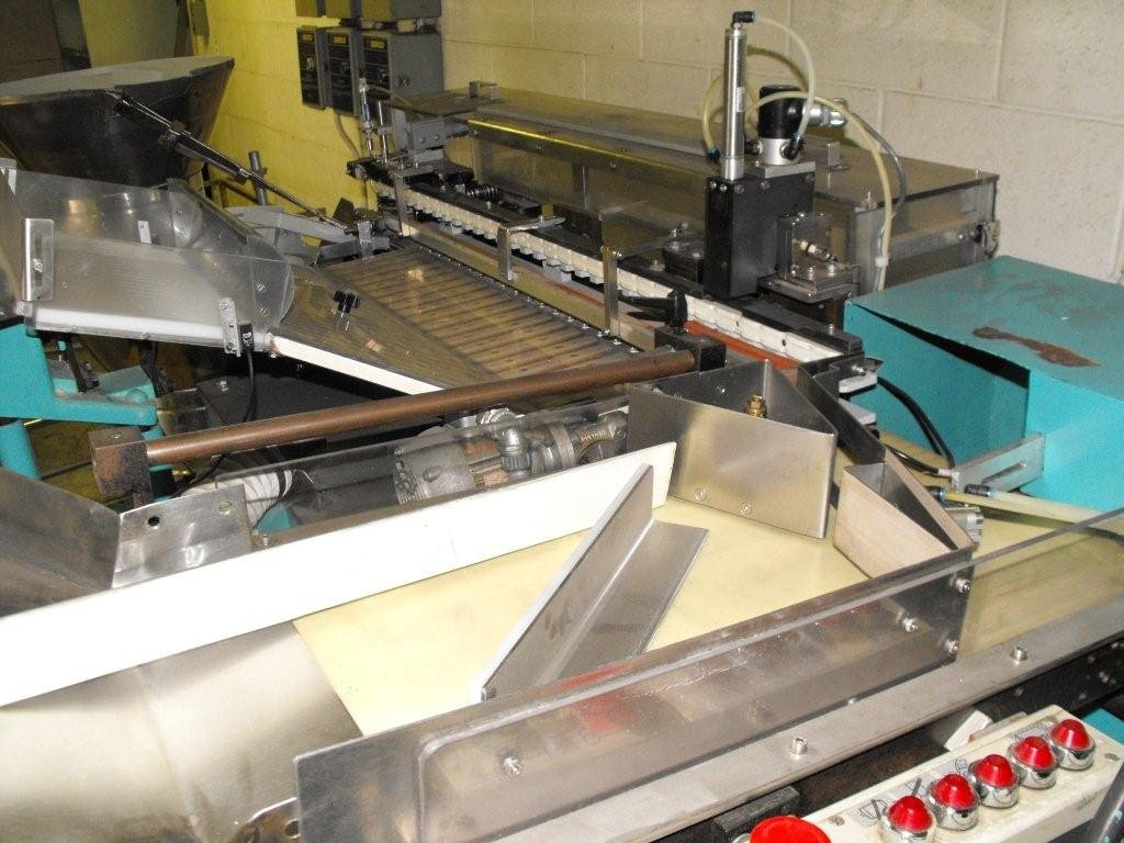 Carmatic tablet tube filler capper (used-automatic)