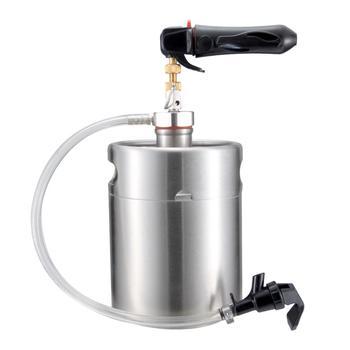 2018 64 Ounce Mini Beer Keg Pressurized Growler For Craft