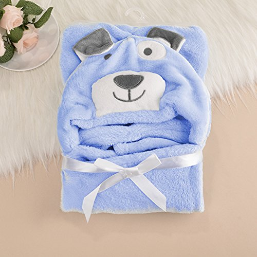 0-12 Month flannel Embroidery Baby Hooded Bath Towel for sale