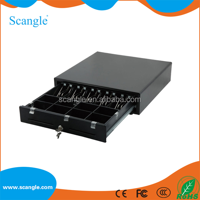 Scangle SGT-410 Stainless steel cash drawer