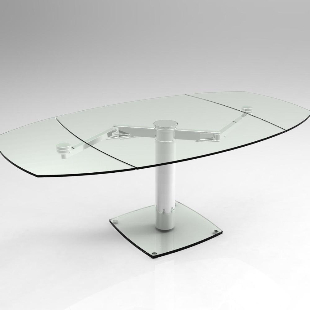 Venta al por mayor mesa de comedor redonda extensible-Compre ...