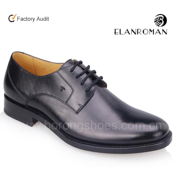 black derby dress handmade shoes leather men shoes Elegant pSIfw