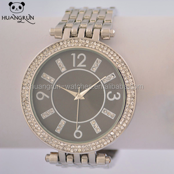 dfd34e4b736bc شنتشن الصين مصنع سبائك معدنية موضة ساعات نسائية-ساعات اليد-معرف ...