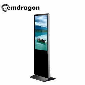 Free sample VDP550AT AD Player lamp post advertising material 55 Inch touch Screen advertising display touch screen monitor