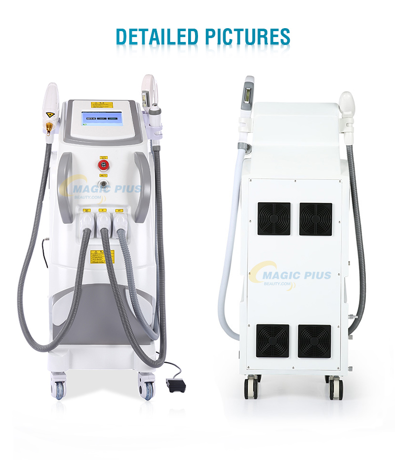 2019 Beauty Equipment IPL Nd Yg Laser Hair Tattoo Removal Therapy Machine for Salon