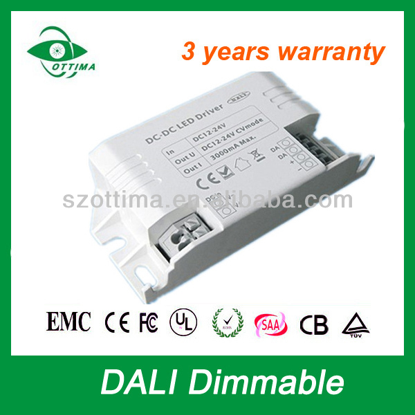 900ma 45W led rgb dali dimming driver 3 years warranty
