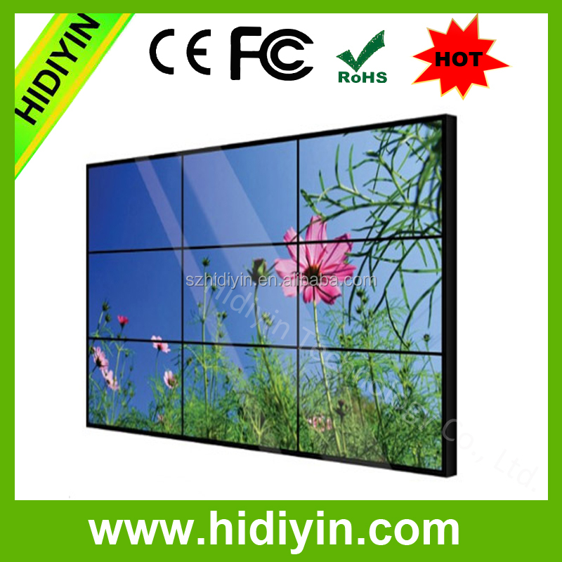 46 inchesWith Super Narrow Bezel 1.8mm panel western digital wd tv live media playerVideo Wall
