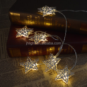 led battery string light with star shaped 20 star led string fairy lights christmas xmas