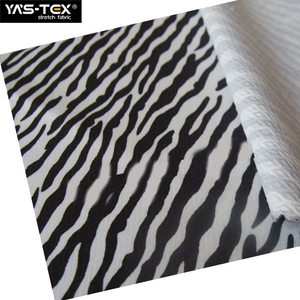 zebra stripe swimwear waterproof stretch fabric for wholesale