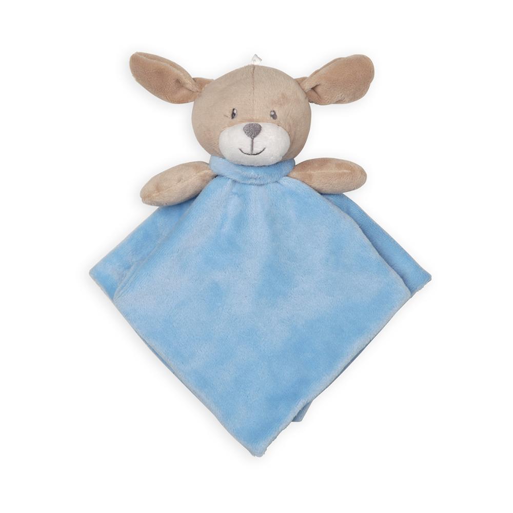 बच्चे अनुकूलित नीले हस्तनिर्मित अनुकूलित पशु मोटी आलीशान कंबल