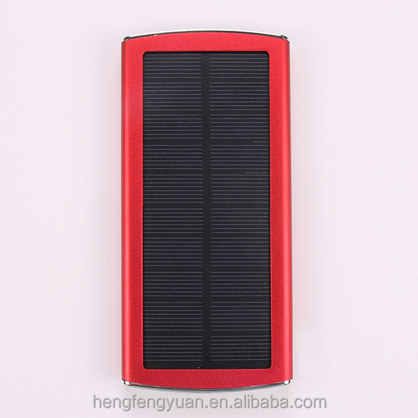 high quality solar power bank charger solar power bank 20000mah solar cell power bank