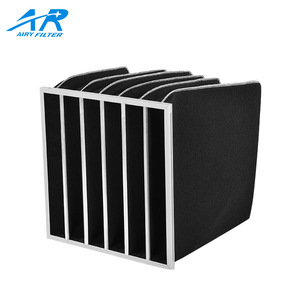 Airy pocket filter activated carbon filter bag air filter