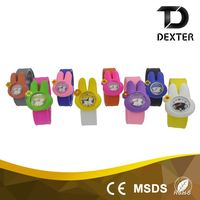 Top quality cheap price antiskid watchband kids slap watch