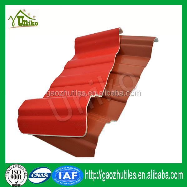 Transparent heatproof sheet heat moldable plastic sheets PVC roof tile