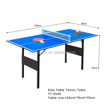 Charmant Small Size Folding Table Tennis Table Easy To Carry Pingpong Table TT 0140
