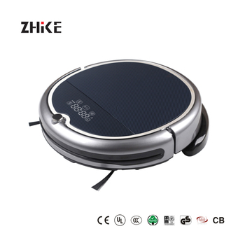 2018 Newest WIFI APP Robot Vacuum Cleaner With Water Tank Q8000