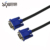 SIPU high speed 3 4 audio video without screws good price pvc computer standard copper male to male vga cable