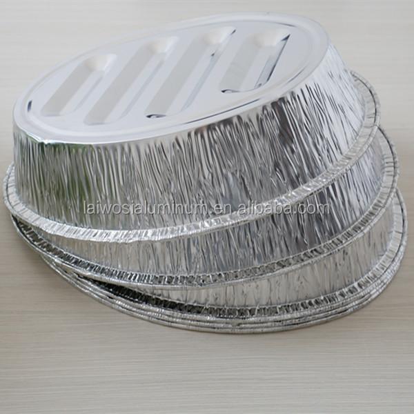 Oval Aluminium foil container