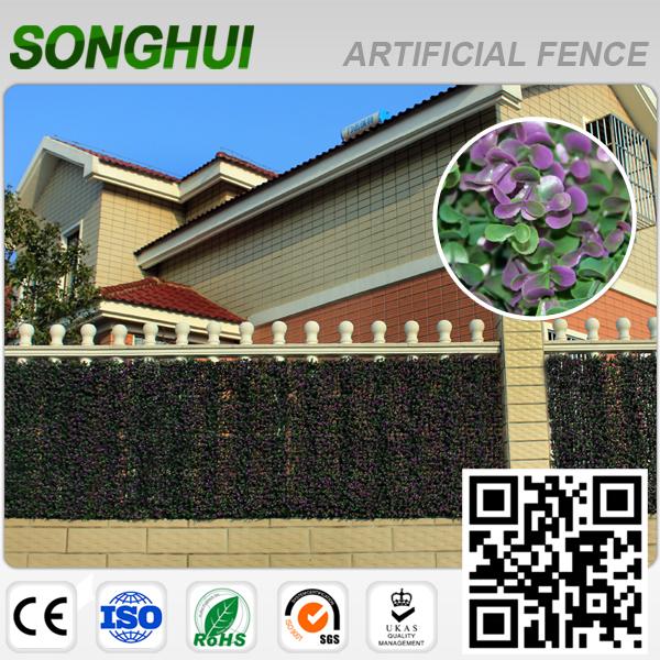 al aire libre cubierta de pared planta artificial