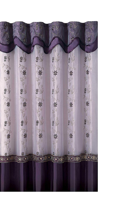 Buy Goodgram Luxurious High Thread Sheer Voile Door Curtain