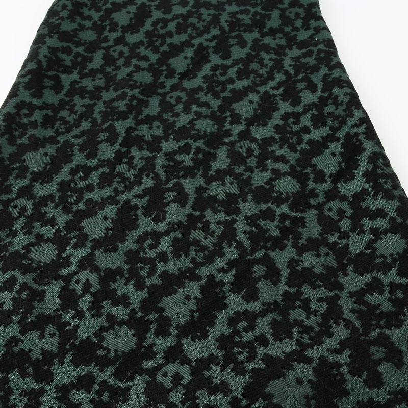 2019wholesale fabric WOOL ACRYLIC jacquard fabric geometry patterned fabric for winter apparel