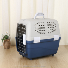 High quality pet flight case, pet consignment cage, foldable pet carrier for car and airplane