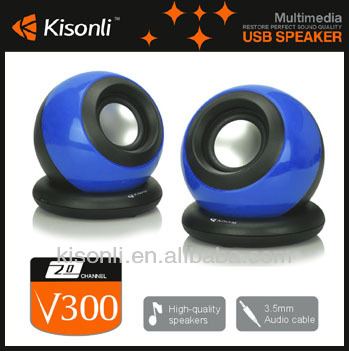 Fashion 2.0 Multi-media Hi-fi Mini Speaker USB Powered Speakers