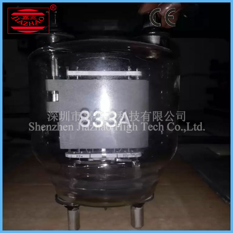Japan Toshiba Electron Tube For HF Welding Machine , 833A Vacuum Oscillation Tube