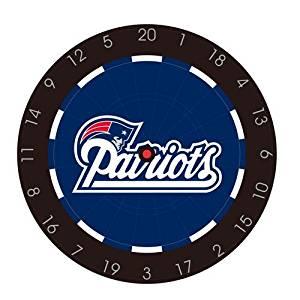 NFL Logo Licensed Bristle Dartboard Color: New England Patriots