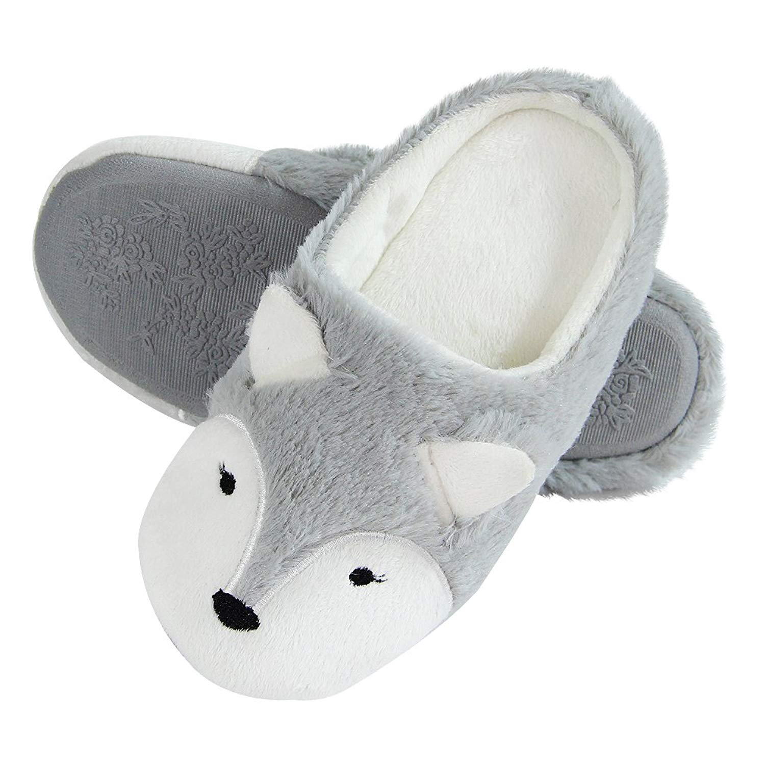 69738ef407d Get Quotations · Fox Cute Animal Slippers Low