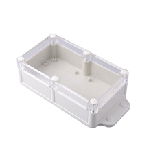 Clear cover plastic pcb enclosure ip68 abs waterproof junction box Industry and Outdoor