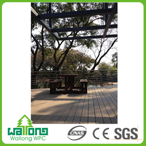 China manufacture insects resistance hollow wpc floor made of tires