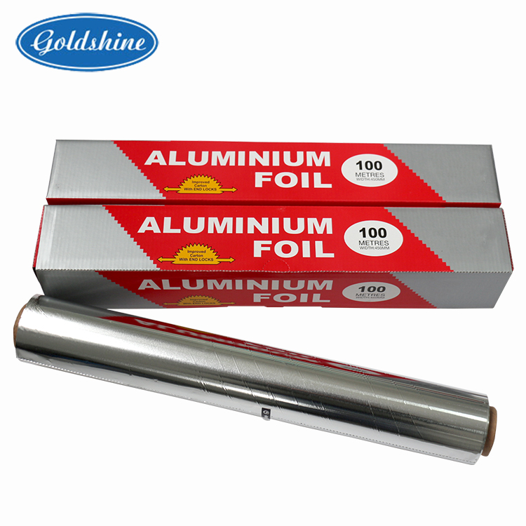 customized food grade household Catering 8011 aluminum foil roll for food packaging cooking frozen barbecue