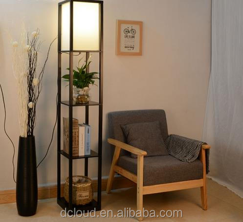 Modern Floor Lamp 160cm Height Lamp Stand Wood Bedroom For Living Room