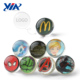 Wholesale 30mm super high clear rubber bouncing ball toy for vending machine toys