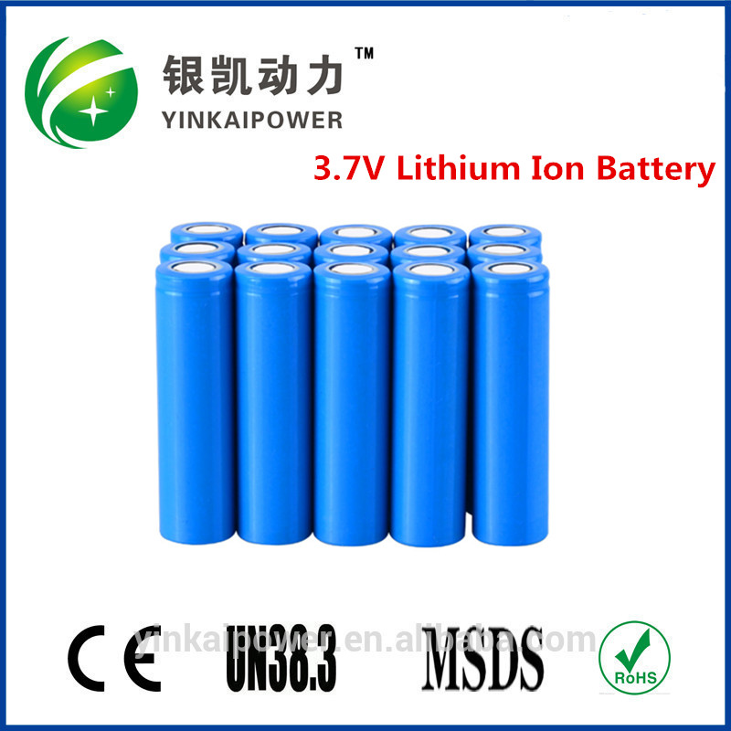 18650 bright light torch battery, 3.7v lithium rechargeable Flashlight battery