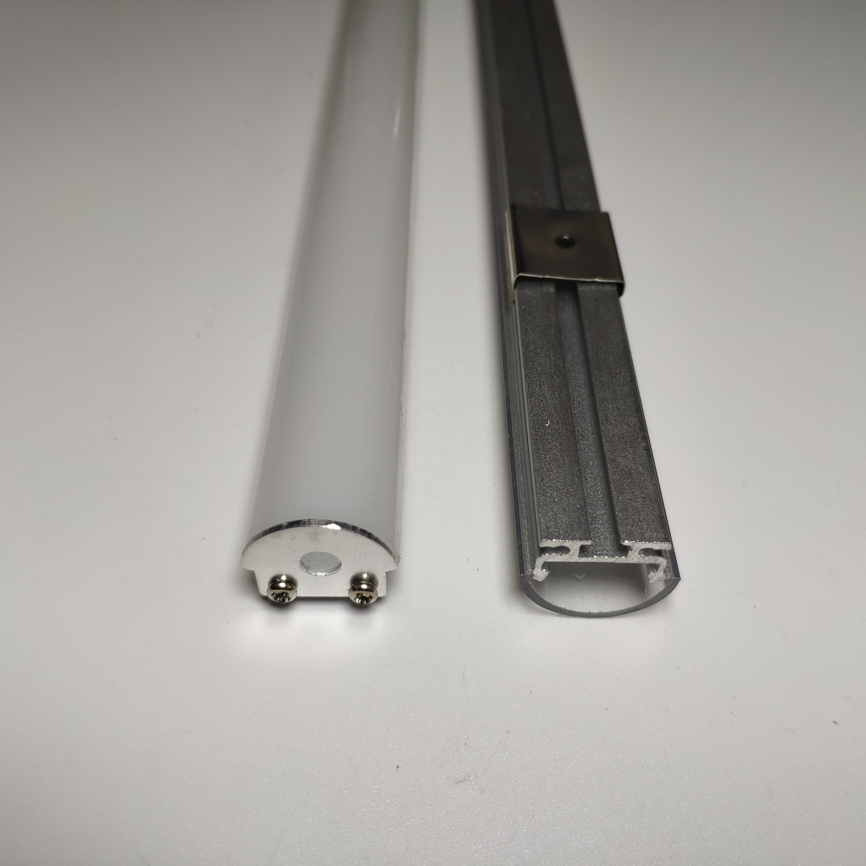 Recessed Linear Light <strong>Aluminium</strong> 17.7mmx8.5mm Extrusion Channel For Plaster Ceilings LED hanging profile housing