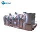 Fried pasta macroni papad snacks pellet manufacturing line