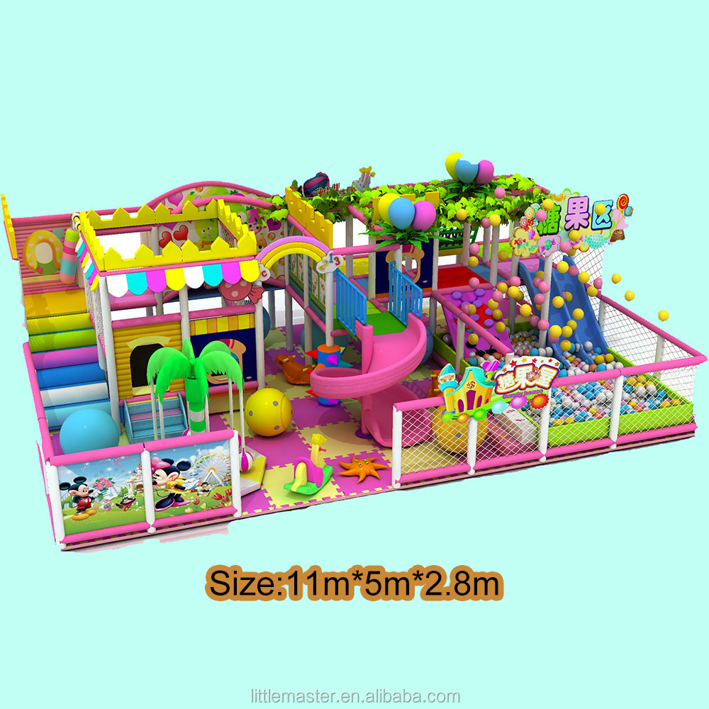 Children Park Toys Small Indoor Playground Candy Theme