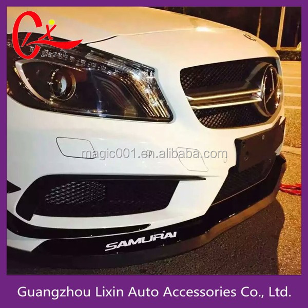 Front Bumper Guard Protection Samurai Rubber Skirt For Car View
