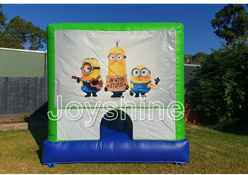 3m x 3m Small Bounce House Bouncing Castles Inflatable Moonwalk Home Indoor Bouncy Jumping Castle For Kids